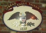 A pretty good day and lunch at the Spread Eagle Tavern!