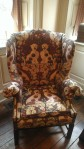 Apparently I love this chair.  I've taken it's picture and blogged about it twice now.